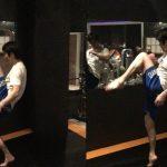 【動画】膝蹴りはケツで押す